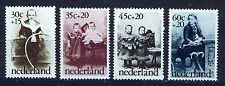 HOLANDA/NETHERLANDS 1974 MNH SC.B505/B508 Turn of Century Photographs