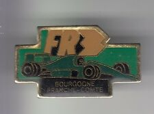 RARE PINS PIN'S .. TV RADIO PRESSE FR3 BOURGOGNE F1 TEAM AUTO CAR COURSE VERT~DB