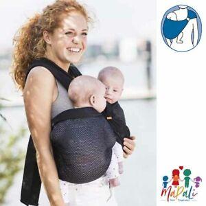 minimonkey - Twin Carrier - mesh - Babytrage - Tragehilfe für Zwillinge