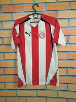Olympiacos Jersey 2005 2006 Home SMALL Shirt Mens Camiseta Football Soccer Puma
