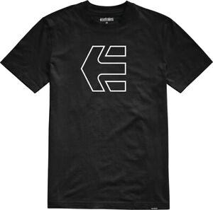 Etnies Icon Short Sleeve T-Shirt in Black