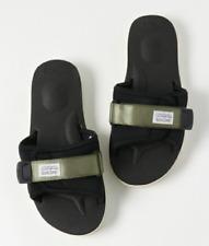 Suicoke OG-082 / PADRI Olive Green Nylon Rubber Adjustable Slippers Slides