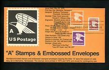 Ranto Cachet US FDC #1948 on 1735 w/ 1819 1736 Domestic Mail Eagle postage 1981