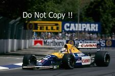 Nigel Mansell Williams FW14B australiano Grand Prix 1992 fotografía