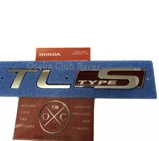New Genuine OEM 07-08 Acura TL Type S Rear Emblems UA7 04 05 06 Badge Kit USDM