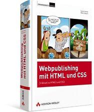 Webpublishing mit HTML5 und CSS3, 844 Seiten Addison-Wesley NEU