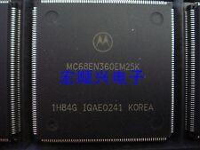MOTOROLA MC68EN360EM25K QFP 68K INTGR COM PROC ETHRN