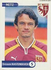 N°158 SYLVAIN KASTENDEUCH FC.METZ VIGNETTE PANINI FOOTBALL STICKER 2001