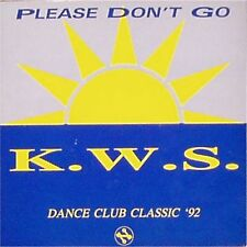 "K.W.S. 'PLEASE DON'T GO' UK PICTURE SLEEVE 7"" SINGLE"