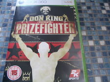 XBOX 360 DON KING PRESENTS PRIZEFIGHTER GAME NEW