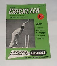 THE CRICKETER MAGAZINE AUGUST 18TH 1962 - BIG HITS AT CANTERBURY