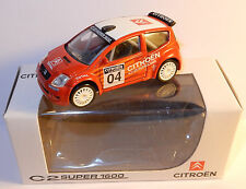 NOREV 3 INCHES 1/54 CITROEN C2 N°04 SUPER 1600 225 CV 185 KM/H IN BOX