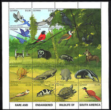 Birds Guyanese Stamps