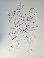 George Grosz Breast Erotik Akt Prostituierte Bordell Freier Strapse Schuh Tee