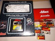 Schuco Piccolo 01664 Sammelordner mit CD MODELL #