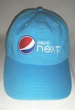 Nice Blue Embroidered PEPSI NEXT Promo Logo Sports Ball Cap Hat Excellent Condtn