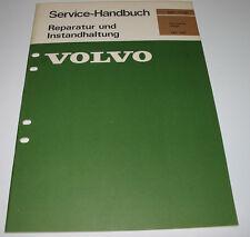 Werkstatthandbuch Karosserie Pflege Volvo 140 / 164 Stand September 1976!