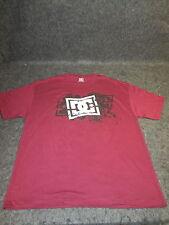 Hombre Auténtico DC Moda Informal skate bmx MX Camiseta S M L XL XX LILA { 104 }