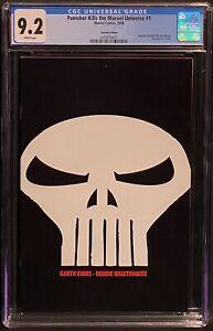 Punisher Kills the Marvel Universe #1 CGC 9.2, Skull Variant, WP, Marvel 2008