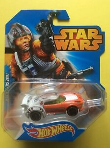1:64 Hot Wheels Star Wars Character Car Luke Skywalker