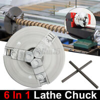 Self-Centering 3 Jaw Lathe Chuck 45mm M12*1 For Mini 6 in 1 Lathe + 2x
