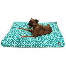 Pacific Aruba Extra Large Rectangle Indoor Outdoor Pet Dog Bed With Removable.