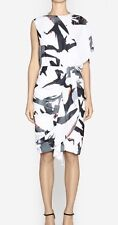 CAMILLA & MARC 'Tree Swallow' Short Dress White Pattern,As New Races Party Sz 12
