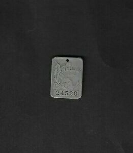 Vintage Harrisburg,PA - Pomeroy's Department Store(Silver?) Charge Tag