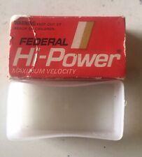 Federal Hi-Power 22 Long Empty Cartridge Collectors Box