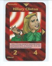 "Illuminati New World Order ""HILARY CLINTON"" Card Game Nice JKS1."