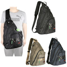 Men Women Large Laptop Sling Bag Backpack Shoulder Bag Travel Bag Chest Pack