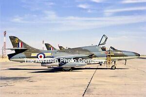 RAF 208 Squadron Hawker Hunter T.7 XL566/Z (1969) Photograph