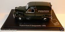 UNIVERSAL HOBBIES PANHARD DYNA X FOURGONNETTE 1952 POSTES POSTE PTT BLISTER BOX