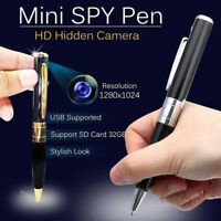 Hidden Mini Camera Pen USB DVR Camcorder Video Audio Recorder Full HD