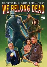 WE BELONG DEAD #20 Magazine Amicus HAMMER Thing 1951-1982 Addams GEORGE ROMERO