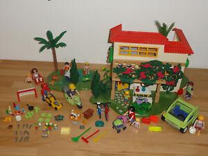 Playmobil 4857 Ferienhaus mit tollem Zubehör!!!