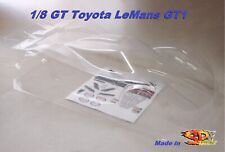 Carrozzeria Body 1/8 GT 0170 Toyota GT1 Le Mans 2012 for MGT7 RGT8 GTX8 NO PAINT