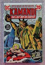 KAMANDI, The Last Boy on Earth, Grade 8.4 by MCG (Midwest Com. Grad.) DC, 1972