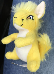 2005 Neopets McDonald's Yellow Kyrii With Tush Tag Only