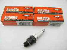 (4) Autolite 425 Ignition Spark Plugs - Copper Resistor