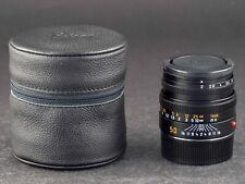 Leica M 50mm 2.0 Summicron 6bit 11826  FOTO-GÖRLITZ Ankauf+Verkauf