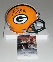 PACKERS Preston Smith signed mini helmet w/ #91 JSA COA AUTO Autographed GB DE