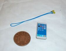 Modelingtoys British Police smartphone & ear plugs 1/6th scale toy accessory