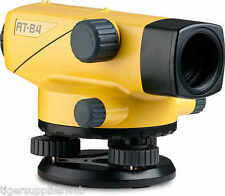 Topcon AT-B4 Automatic 24X Auto Level Surveying (60909) 2nd day Air! Plus Tripod
