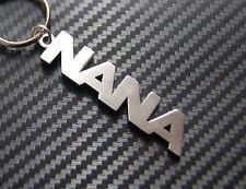 NANA Nan Nanny Mum Mothers Day Gift Keyring Keychain Key Bespoke Stainless Steel