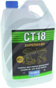 CHEMTECH SUPERWASH 5L CLEANING GEL WASH CT18-5L
