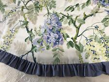 "Schumacher Fabric Custom Made Floral Valance 72"""