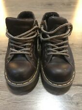 Doc Martens 10940 Brown AirWair Classic Ankle Shoes Womens Size US 6M 7W