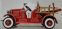 Fire Engine Truck Ford Built 1 Metal Model Vintage 1930 T 24 Pickup Car 16 A 25