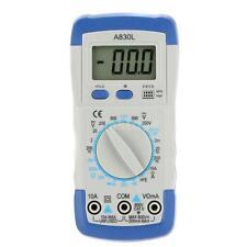 A830L LCD Digital Multimeter DC AC Voltage Diode Transistor Test Multitester US